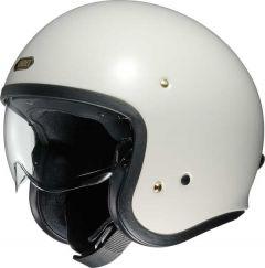 Shoei J.O. Open Face Helmet   Off White